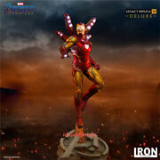Iron Studio The Avenger Iron Man Mk85 1/4 Scale Resin Model Painted In Stock Ex