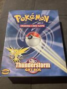 Pokemon Thunderstorm Gift Box Sealed Theme Deck Vintage Collectable Trading Card