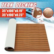 106and039and039x 35.4and039and039 Eva Foam Boat Teak Decking Marine Flooring Yacht Sheet Pad Mat !