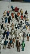37 Psc Lot Of Star Wars 1977/1983 Vintage Figures Good Condition Weapons