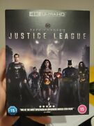 Zack Snyderand039s Justice League Blu-ray 4k Uhd Brand New Snyder Cut