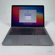 Apple 13 Macbook Pro 2017 2.3 Ghz I5 Mpxq2ll/a + Display Dmg Sold As Is