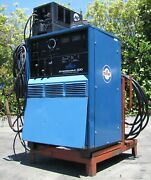 Miller Syncrowave 300 Ac Dc Gas Tig Stick Arc Welder With Tig Gun And Coolmate