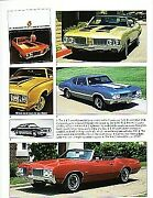 1970 Oldsmobile 442 + W-30 + Convertible Article - Must See