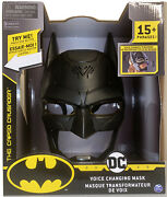 Dc Comics Batman Voice Changing Mask With Over 15+ Phrases The Caped Crusader🔥