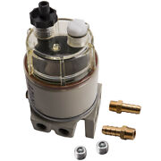 Oil Fuel Filter / Water Separator 120at For Marine Outboard R12t Boat Spin-on