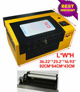 Intbuying 50w 12x20 Co2 Laser Engraver Cutter Engraving Machine Carve Usb