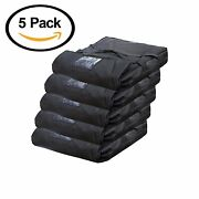 Case Of 8 Pizza Delivery Bags Thick Insulatedholds 4-5 16 Or 18 Pizzas Red.