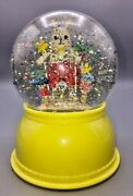 Little Big Room Djeco Rabbit Night Light Snow Dome Globe Easter Changes Colors
