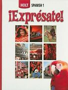 Holt Spanish 1 Expresate By Nancy Humbach Used