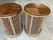 Vintage Pioneer Cs-05 Omni Directional End Table Speakers No Shipping