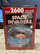 Vintage Space Invaders New Atari 2600 Video Game Nearly Sealed 👍👀👍
