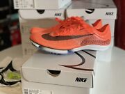 Nike Air Zoom Victory Next Track Spikes Bright Mango Menand039s Size 10.5