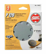 Shopsmith 12053 120-grit Aluminum Oxide Hook And Loop Sanding Disc 5 Dia. In.