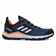 Mens Adidas Terrex Agravic Tr Fx6914 Navy Trail Running Shoes New