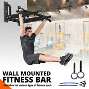 Doorway Pull Up Bar Wall Mount Chin-up Home Exercise Equipment Fitness Gym Tools