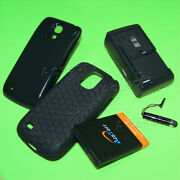 6300mah Extended Battery Cover Tpu Case Charger For Samsung Galaxy S4 Mini I257