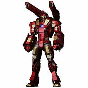 Sentinel Modular Iron Man With Plasma Cannon And Vibroblade Collectible Figure