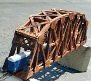 M1870' Parker Truss Bridge Ho. Assembled And Deco With Abutments Mao @ 299.00