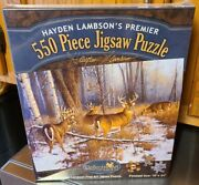 New 1997 Hayden Lambsonand039s 550 Pc Jigsaw Puzzle 18x24 In Your Dreams Bucks