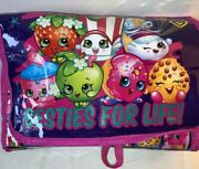 Shopkins 25 Besties For Life Carrying Storage Case Furniture And 5 Shopkins Dolls