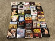 Audio Book Cd Mystery Love Stories Rock And Roll Murder Religion Lot 30 Books