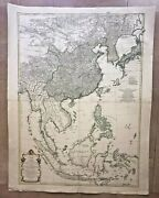 Southeast Asia China 1752 Dand039anville Very Large And Unusual Antique Map