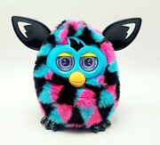 Furby Boom Triangles Working Perfect Clean Blue And Pink