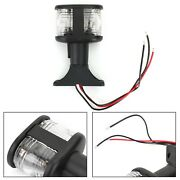 Marine Boat All-round And Anchor Stern Masthead Light Fold-down 4 Inch 12v Us