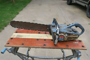 Vintage Homelite 150 Automatic Blue Chainsaw With Bar / Chain / Parts Only