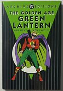 The Golden Age Green Lantern Dc Archives Editions Volume 2 Hc 1st Printing 2002