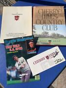 Cherry Hills Cc Lot Palmer And North Signatures + Us Open Program Si Cover Book