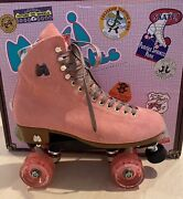 New Moxi Lolly Suede Discontinued Pink Strawberry Skates Choice Upgrade Wheels