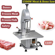 1500w Commercial Meat Bone Saw Electric Sawing Machine Frozen Meat Fish Cutter
