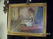 William Fisher American Listed Artist Original Oil On Canvas Painting