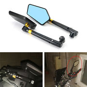 Aftermarket Fit For Kawasaki Z125/z650/z800 Motorcycle Rearview Side Mirrors