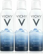 3 Pack Vichy Mineralizing Thermal Water Spray 5.1 Oz Each