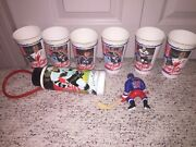 Wayne Gretzky Coca Cola Cups And Water Bottle