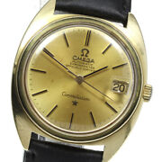 Omega Constellation 18k Yellow Gold Cal.564 Date Automatic Menand039s_613991
