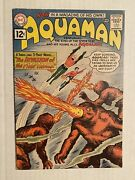 Aquaman 1 Dc 1962 First Aquaman In His Own Series First Appearance Of Quisp