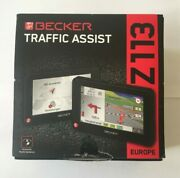 Gps Becker Traffic Assist Z113 Europe 41 Countries Maps. Charger With Tmc