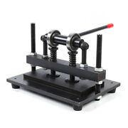 New Manual Leather Cutting Machine Die Cut And Leather Embossing Machines Durable