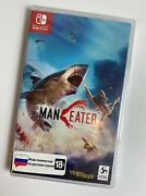 Maneater Nintendo Switch Brand New And Factory Sealed [english Russian]