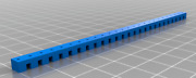 N Scale Track Clamp For Sleepers Rail Ties Spacer Works With Peco Flex