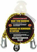 Airhead Tow Harness Rope Boat Water Sports Ski Tube Hooks Line Pulley Towables