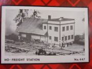 Freight Station  447  Vintage Campbell Scale Models  Parts Bagged