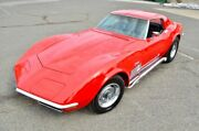 1971 Chevrolet Corvette Stingray 4 Speed Side Pipes Beautiful Paint New Interior 4 Speed Power Disc Brakes Side Pipes