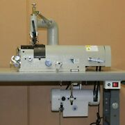 Consew Dcs-s4 Leather Skiving Machine – With Table And Motor