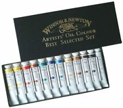 Winsor And Newton Oil Paint Winsor And Newton Artist Oil Color 12color Se...