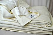 Restoration Hardware Lot Of 3 Washed Linen 96 Drapery Panels Curtains Each 100
